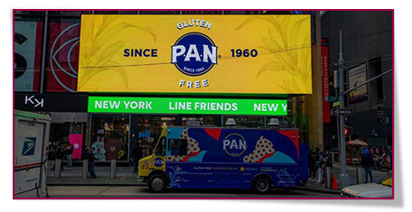 Anuncios de P.A.N. en New York