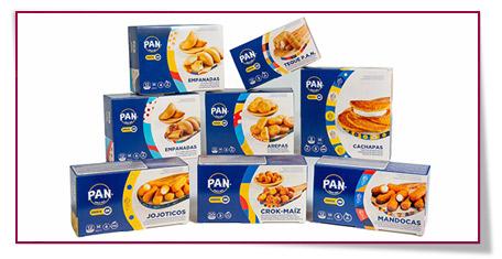Algunos productos de P.A.N.